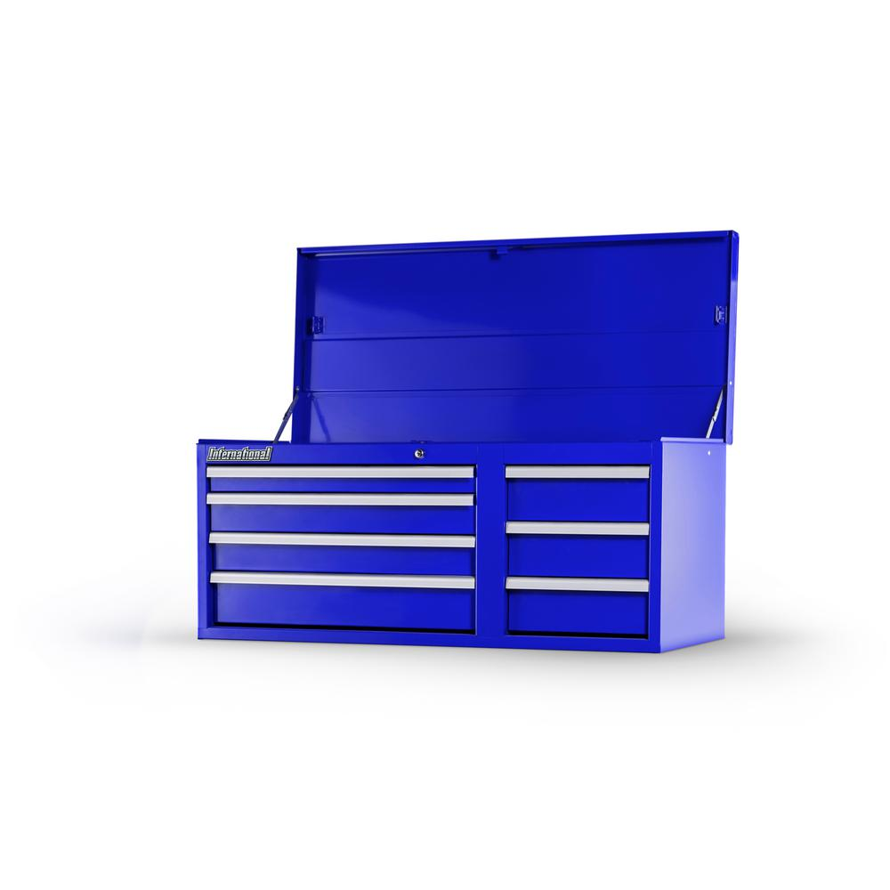 International Workshop Series 42 in. 7-Drawer Top Chest in Blue