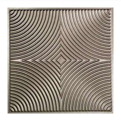 Echo - 2 ft. x 2 ft. Lay-in Ceiling Tile in Galvanized Steel