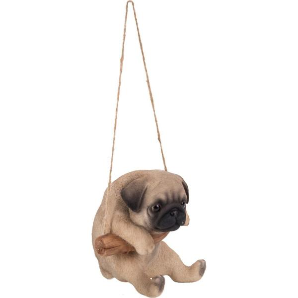 Hi Line Gift Pug Puppy Hanging Statue 87704 C The Home Depot