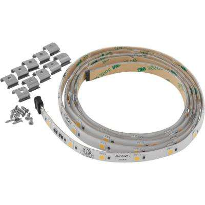 Hide-a-Lite Collection 4-LED 60 in. Tape Light 3000K