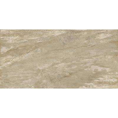 Milestone Taupe Matte 11.81 in. x 23.62 in. Porcelain Floor and Wall Tile (11.628 sq. ft. / case)