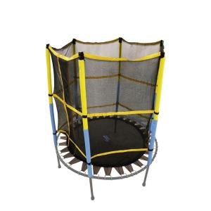 trampoline replacement jumping band mat with attached safety net for 55 in round frame upper bounce
