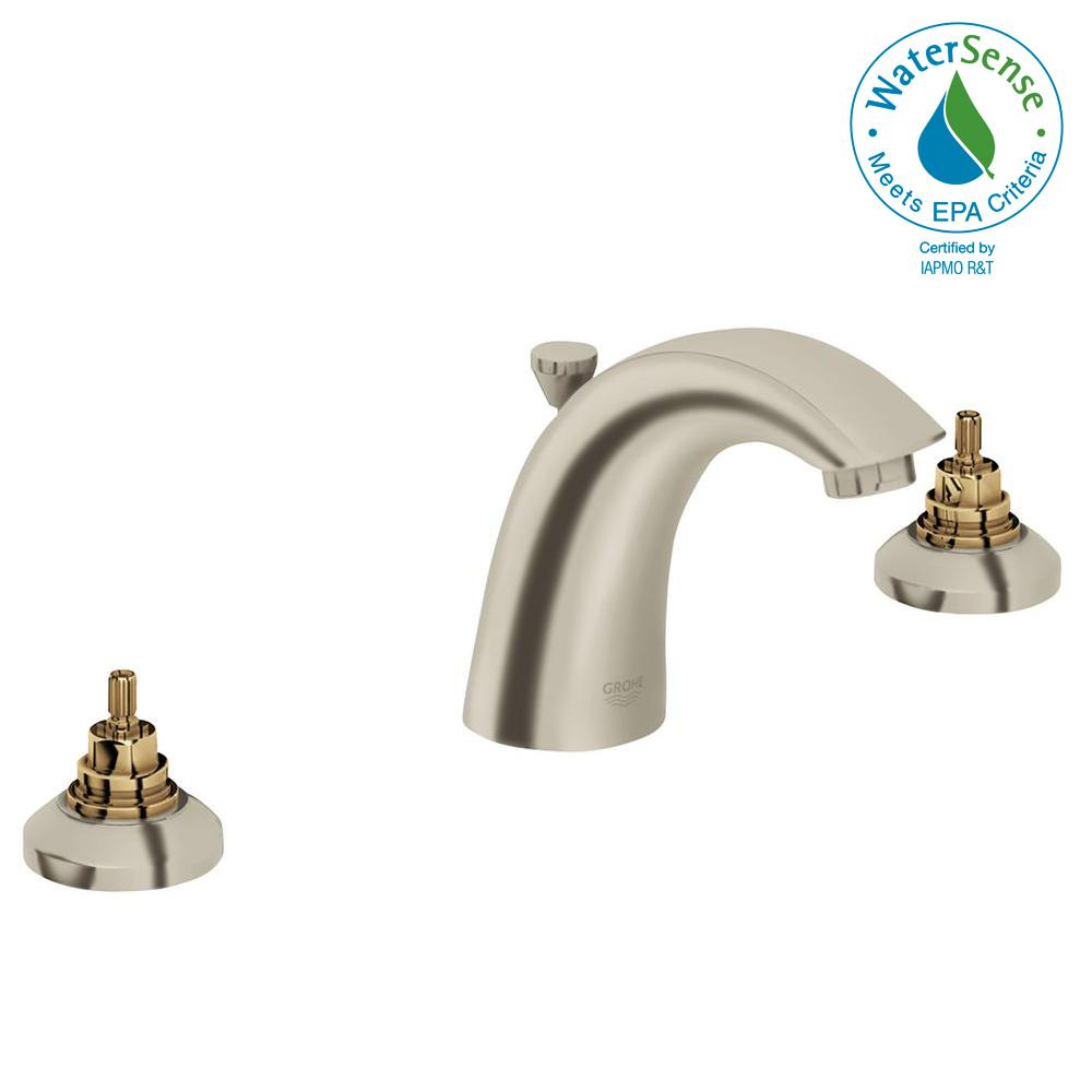 Grohe Arden 8 In Widespread 2 Handle Bathroom Faucet In Brushed