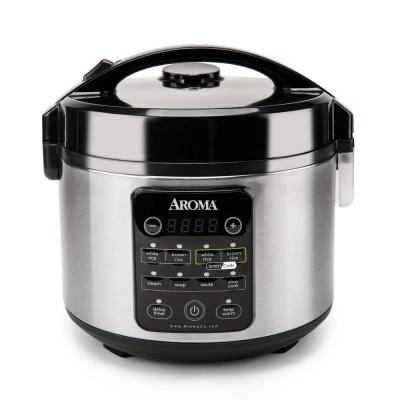 12-Cup Stainless Steel Smart Carb Rice Cooker
