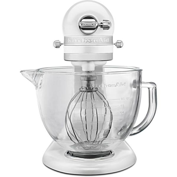 Kitchenaid Artisan Designer 5 Qt 10 Speed Frosted Pearl