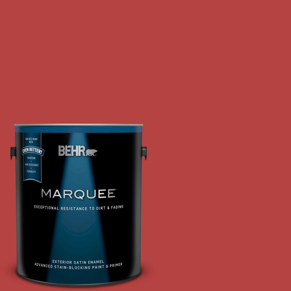 ad272daf559cec BEHR Premium Plus Ultra 1 gal.  M160-7 Raging Bull Satin Enamel ...