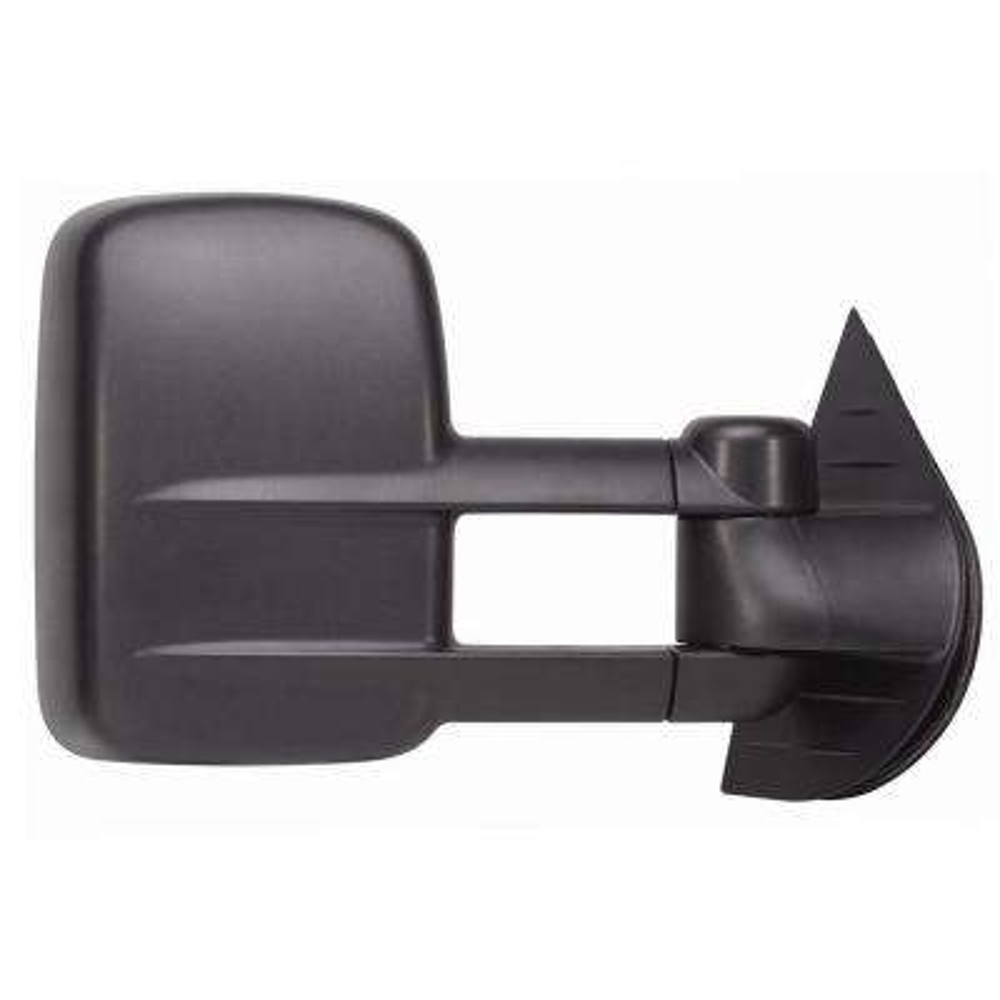 Towing Mirror for 07-14 Escalade/Silverado/Sierra/Hybrid/Tahoe/Yukon 07-13 Avalanche Dual Lens Black RH