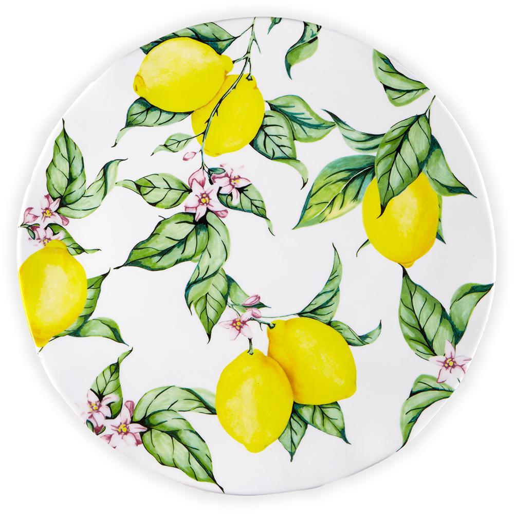 Q Squared Limonata 16 inch Melamine Serving Platter by Q Squared
