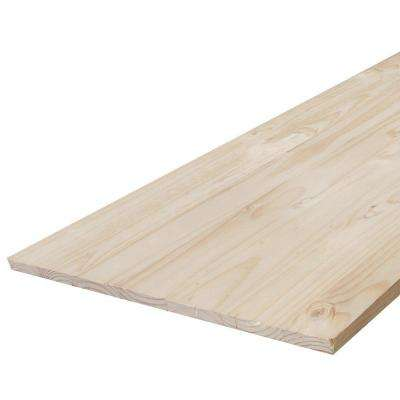 Edge-Glued Panel (Common: 21/32 in. x 18 in. x 4 ft.; Actual: 0.656 in. x 17.25 in. x 48 in.)