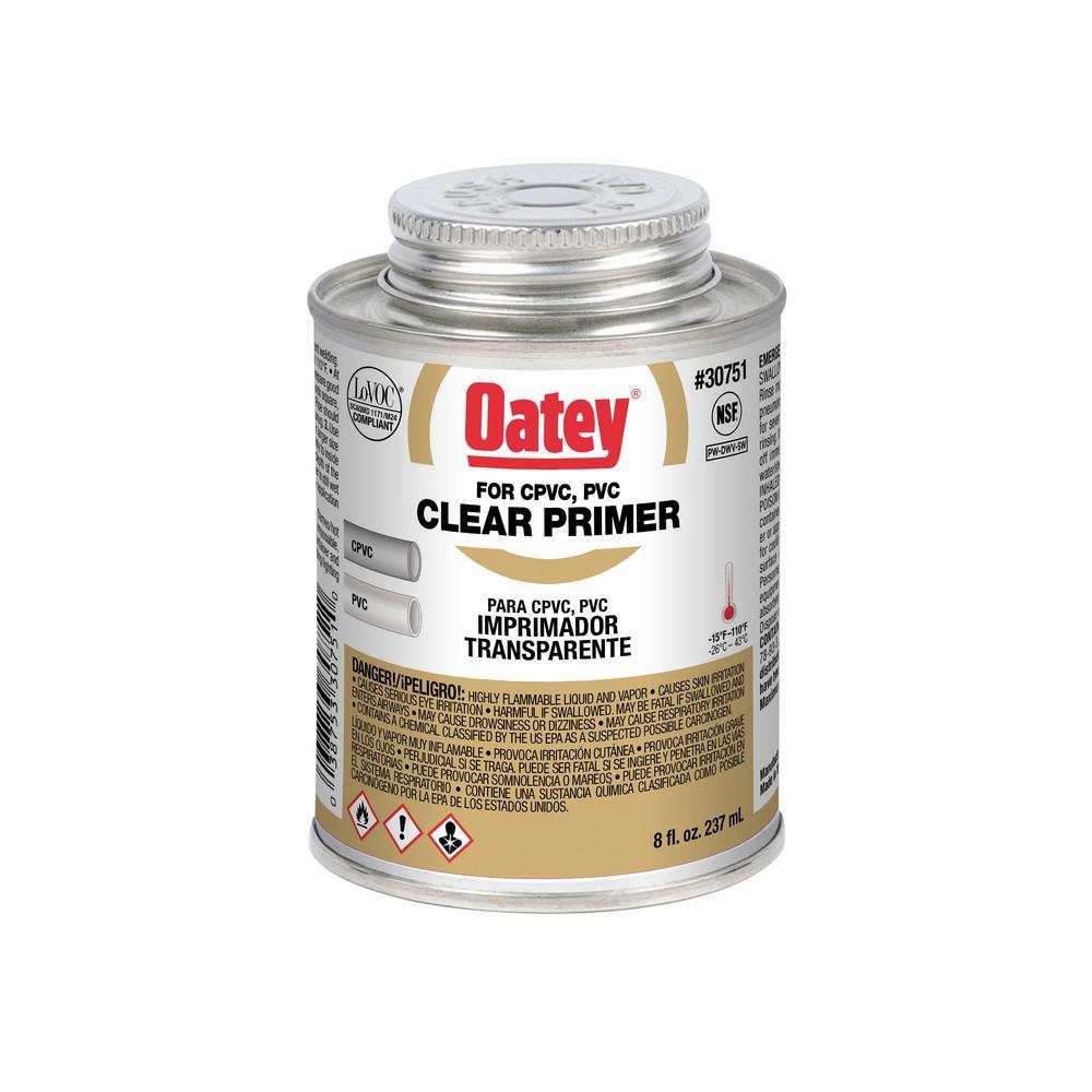8 oz. PVC Clear Pipe Primer