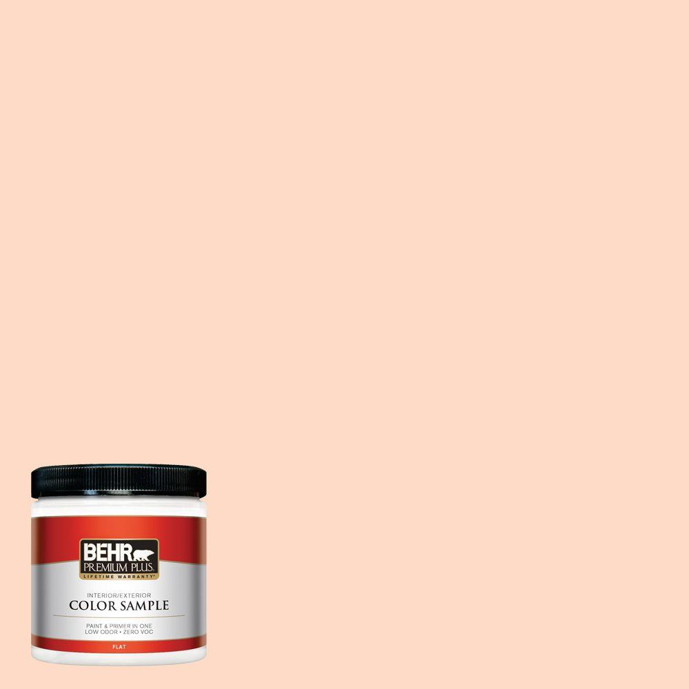 BEHR Premium Plus 8 oz. #250C-2 Sugared Peach Interior/Exterior Paint Sample