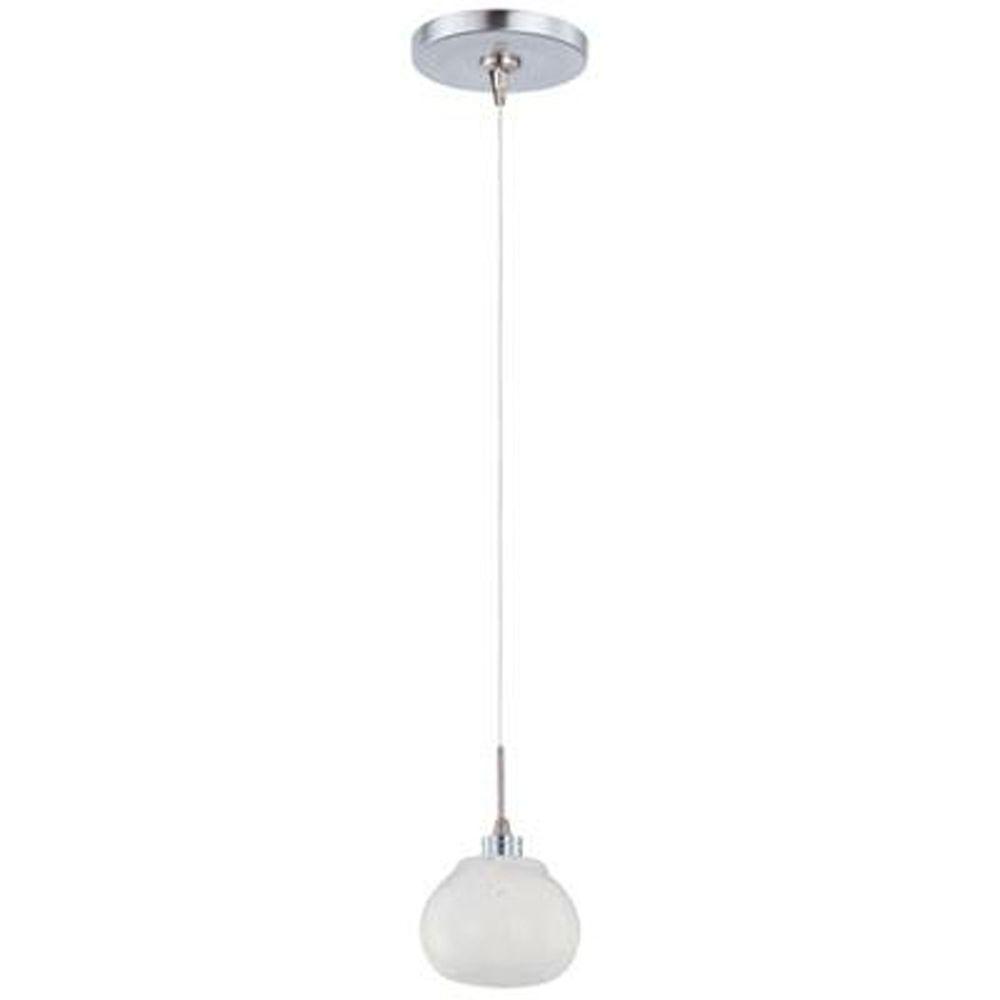 CLI Snow White 1-Light RapidJack Pendant and Canopy-E94403-10SN - The Home Depot