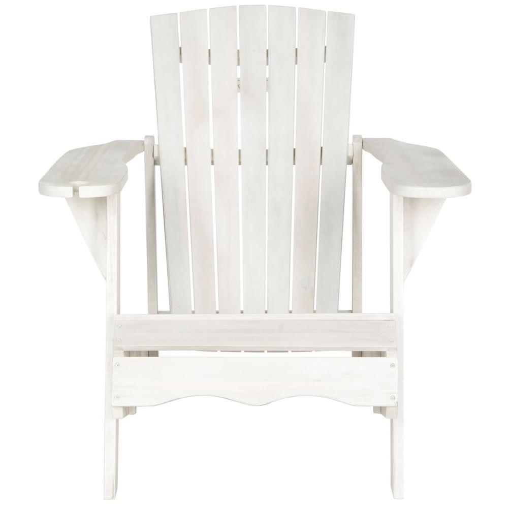 Safavieh Vista Antique White Patio Adirondack Chair - Safavieh Vista Antique White Patio Adirondack Chair-PAT6727C - The