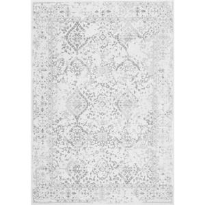 Odell Distressed Persian Ivory 12 ft. x 15 ft. Area Rug