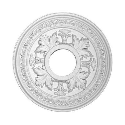 15-1/2 in. x 1-1/2 in. Floral Polyurethane Ceiling Medallion