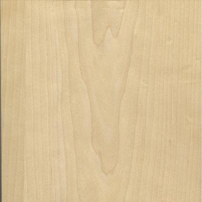 24 in. x 96 in. White Maple Real Wood Veneer with 10 mil Paperback