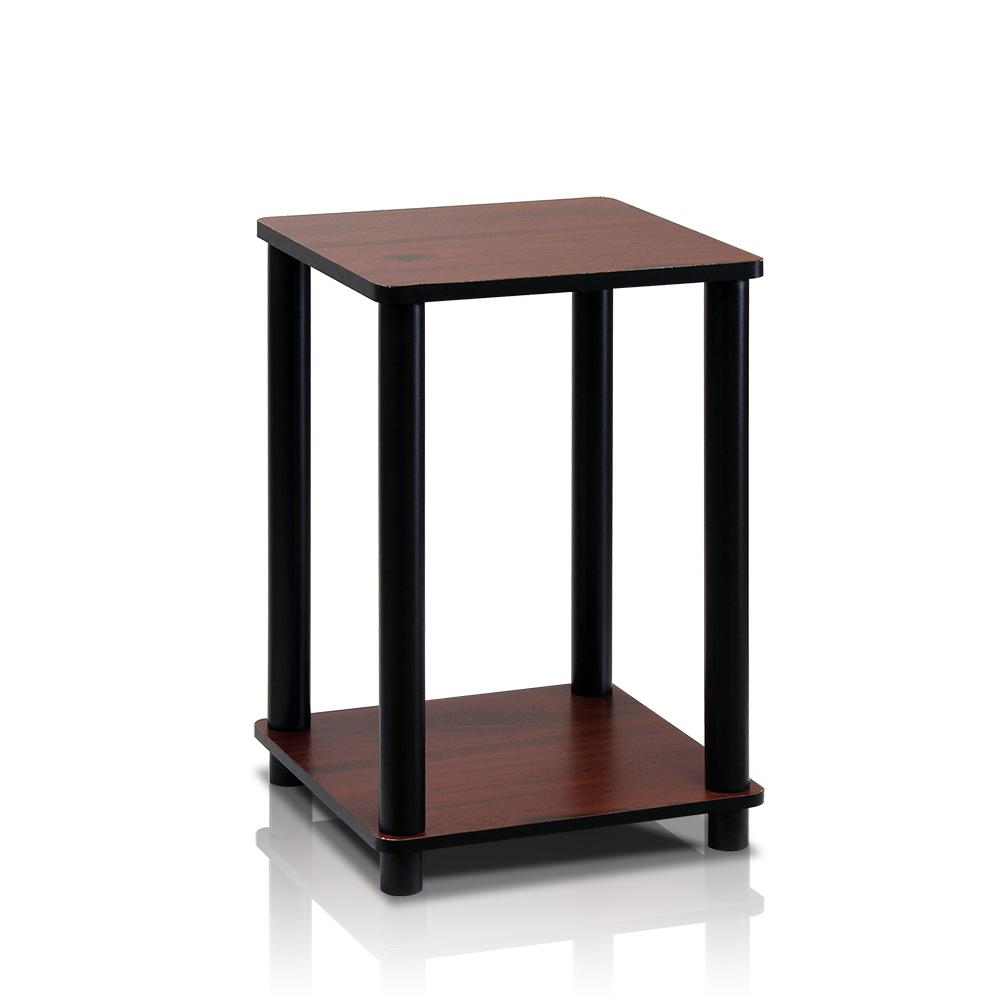 Turn N Tube Dark Cherry Simple End Table