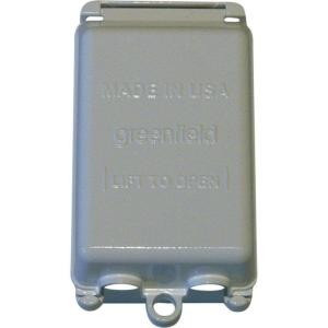 Greenfield While In Use Weatherproof Electrical Box Cover