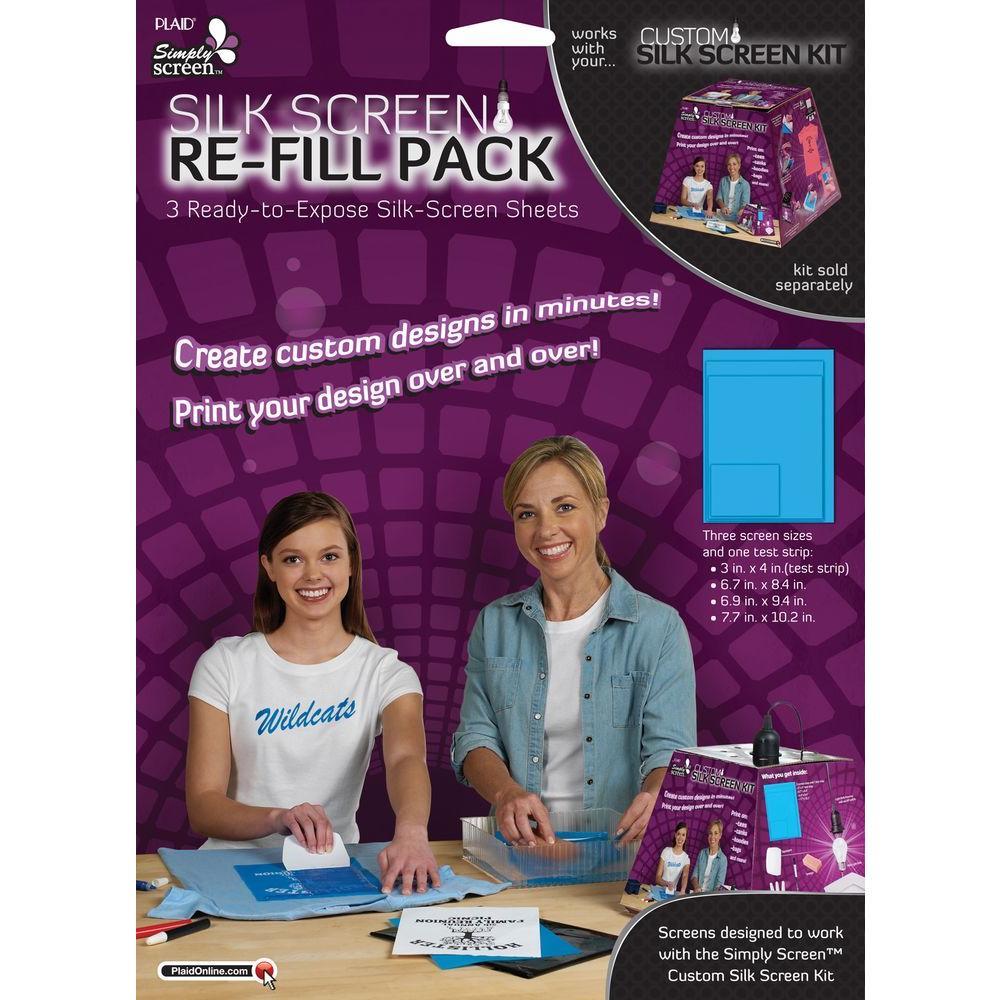 Simply Screen Silk Screen Refill Kit