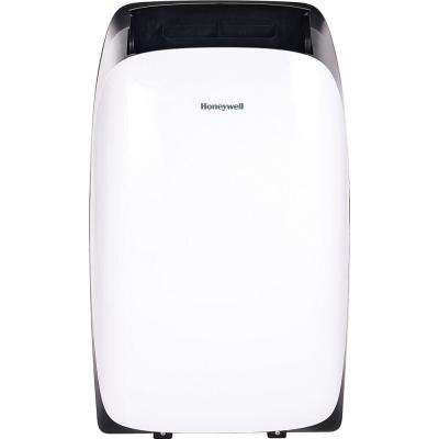 14000 BTU 8500 BTU (DOE) Portable Air Conditioner in White with Heater for Rooms Up To 700 Sq. Ft. with Remote Control