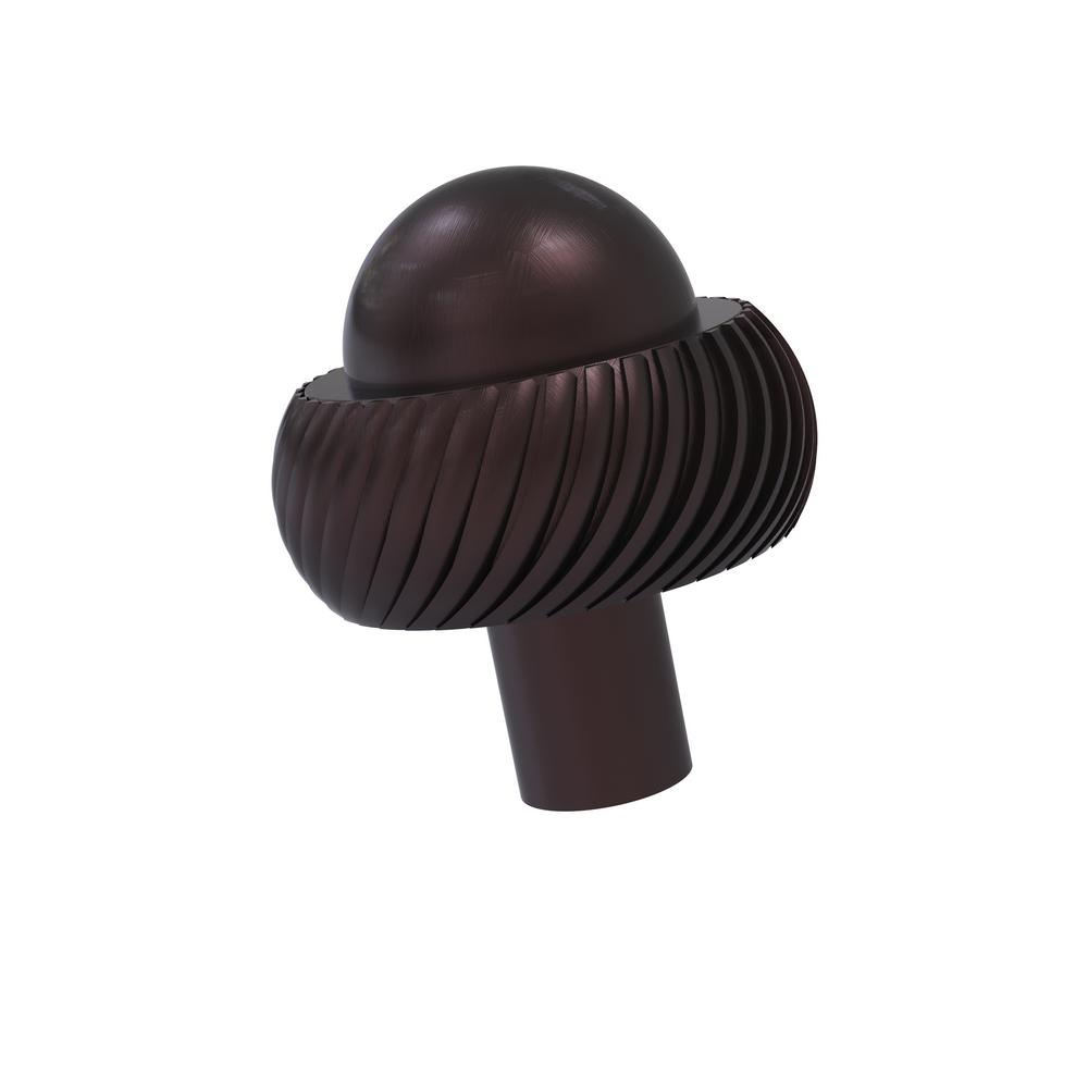 1-1/2 in. Cabinet Knob in Antique Bronze
