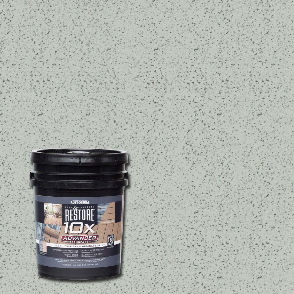 4 gal. 10X Advanced Graywash Deck and Concrete Resurfacer