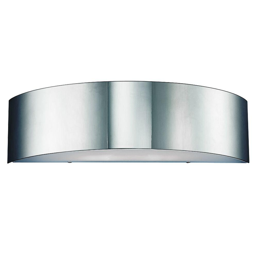 Eurofase Dervish Collection 2-Light Chrome Wall Sconce