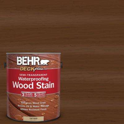 1 gal. #ST-129 Chocolate Semi-Transparent Waterproofing Exterior Wood Stain