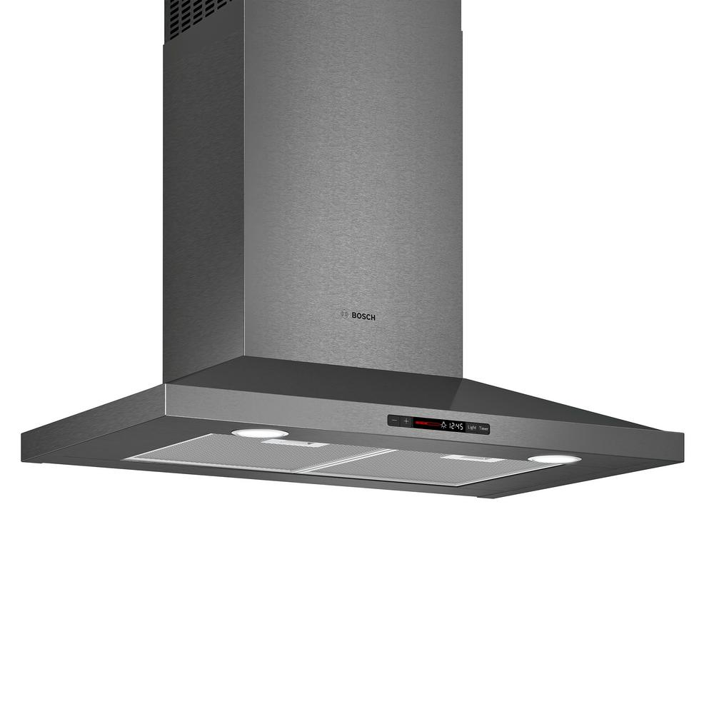 800 Series 30 in. Pyramid Style Canopy Range Hood with Lights