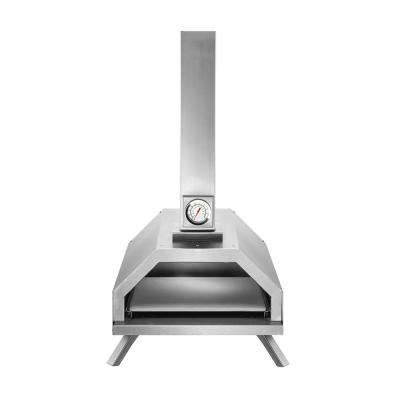 Pyre-Pro Wood Burning Outdoor Pizza Oven in Stainless-Steel