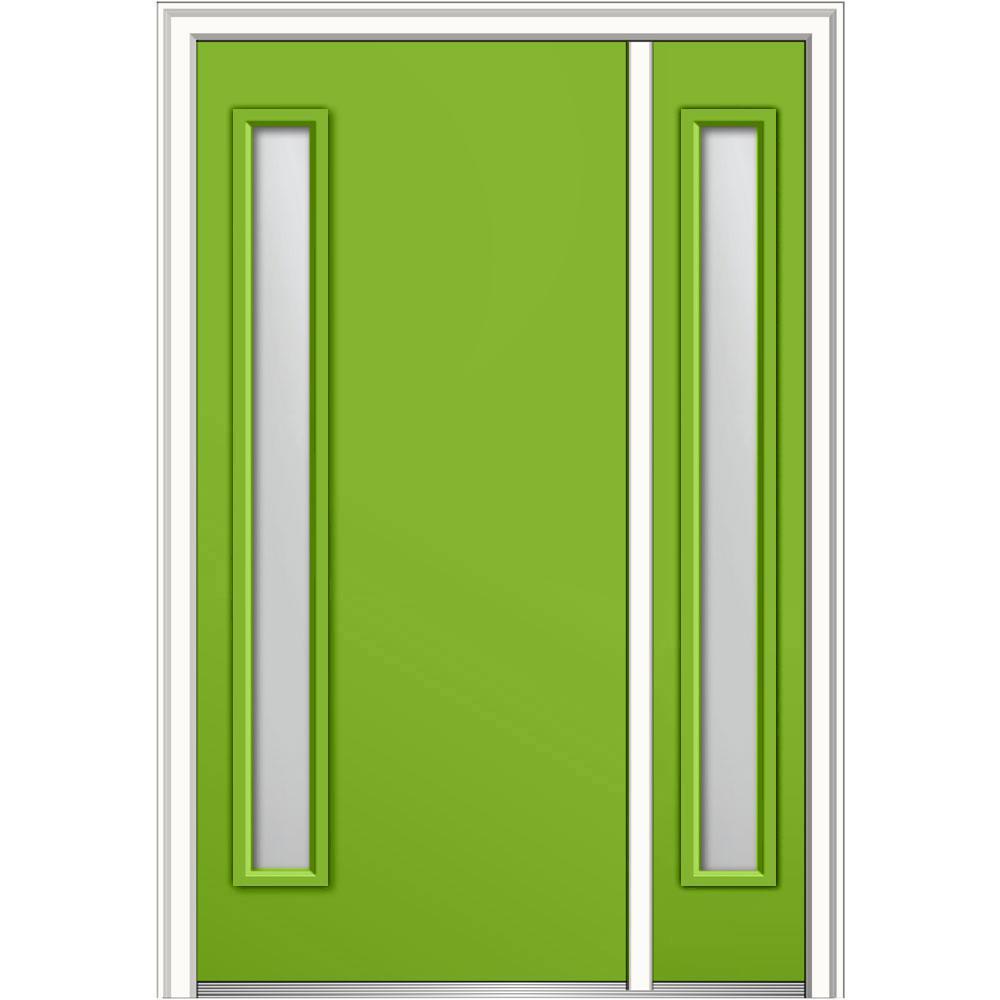 Mmi Door 48 In X 80 In Viola Low E Glass Left Hand 1 Lite Modern