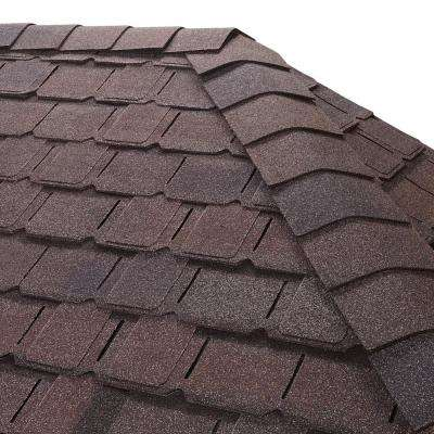 Timbertex Royal Slate Hip and Ridge Shingles (20 linear ft. per Bundle)