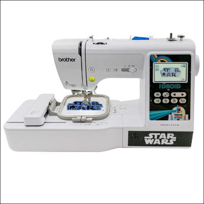 Star Wars Themed 2-in-1 Sewing and 4 in. x 4 in. Embroidery Machine with Color Touch LCD Screen