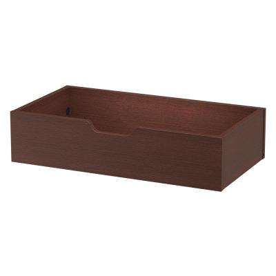 30 in. x 6 in. Closet Rollout Tray Drawer in Mocha