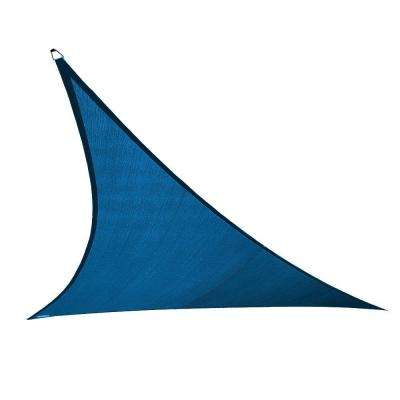23 ft. x 23 ft. Cobalt Blue Triangle Ultra Shade Sail