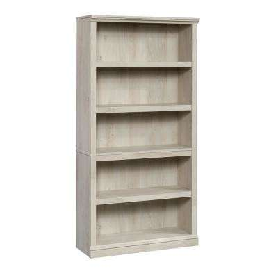 Chalked Chestnut 5-Shelf Bookcase