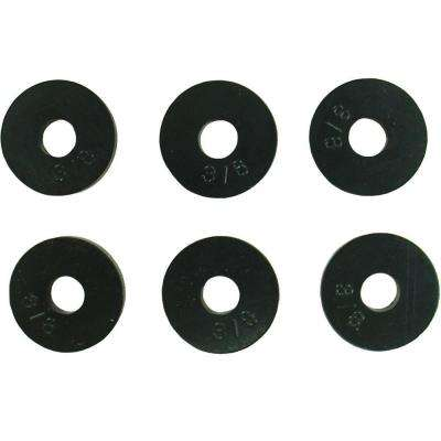 5/8 in. O.D. (3/8 Trade Size) Flat Faucet Washers (6-Pack)