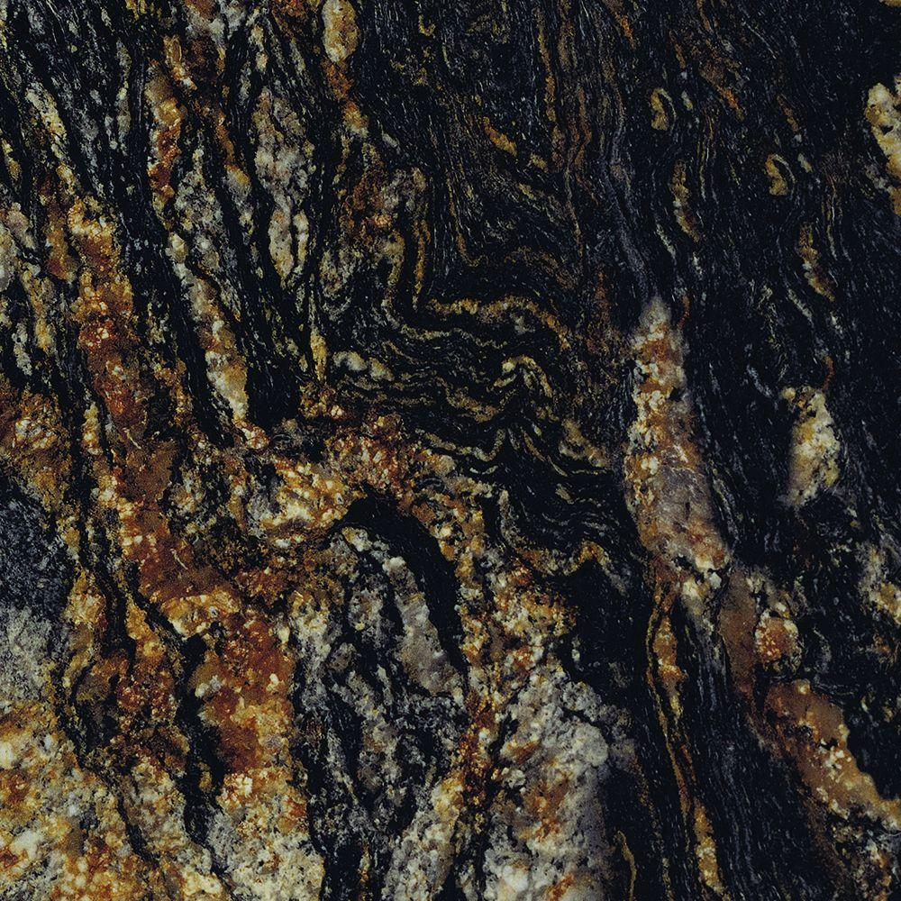 5 in. x 7 in. Laminate Countertop Sample in 180fx Magma