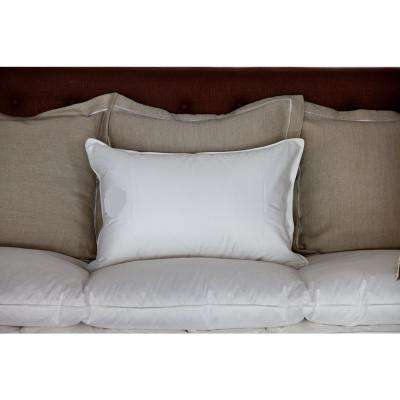 Standard Size Down Filled Soft Front Sleeper Pillow