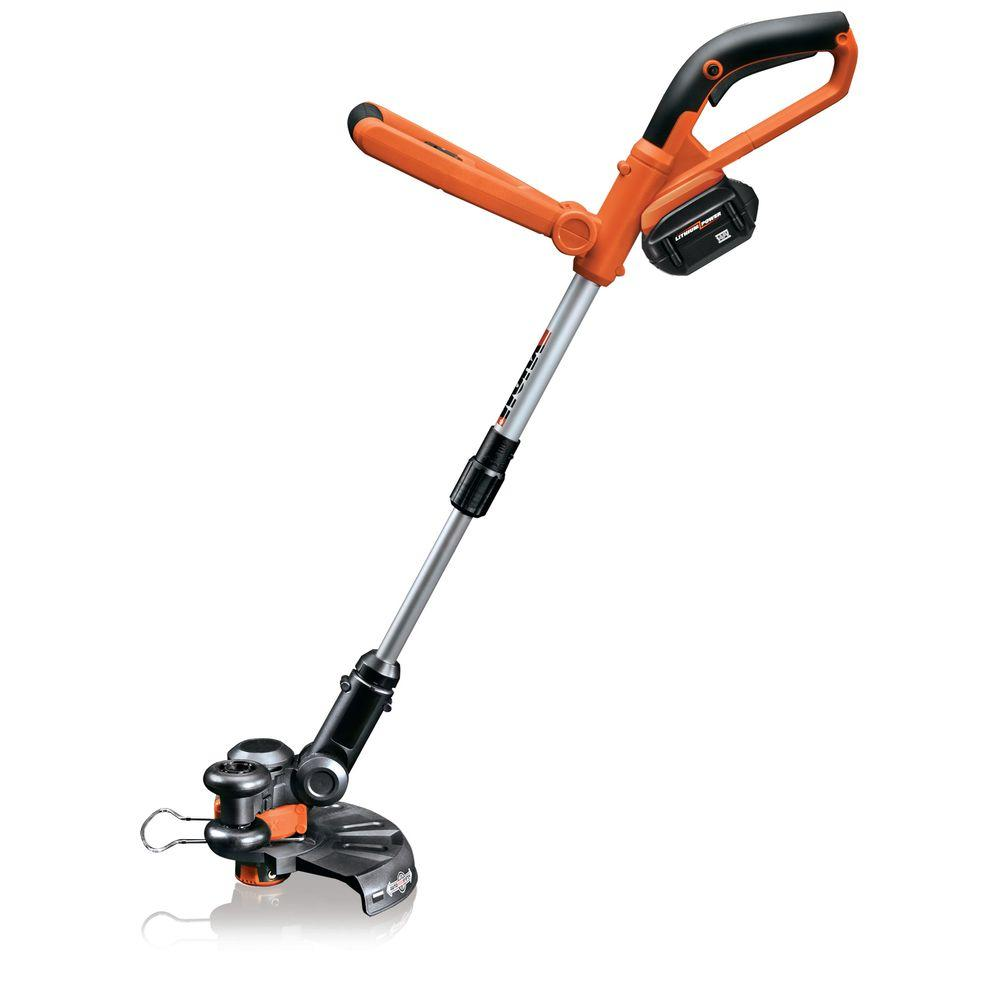 Worx 10 in. 24-Volt Cordless Electric Grass Trimmer-DISCONTINUED