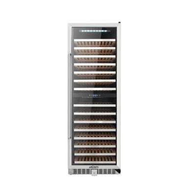 DUAL ZONE 156-Bottle Built in Wine Cooler