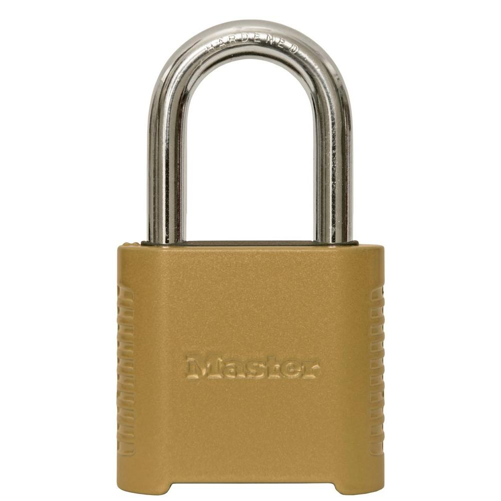 875DLF 2 in. Wide Zinc Set Your Own Combination Padlock with