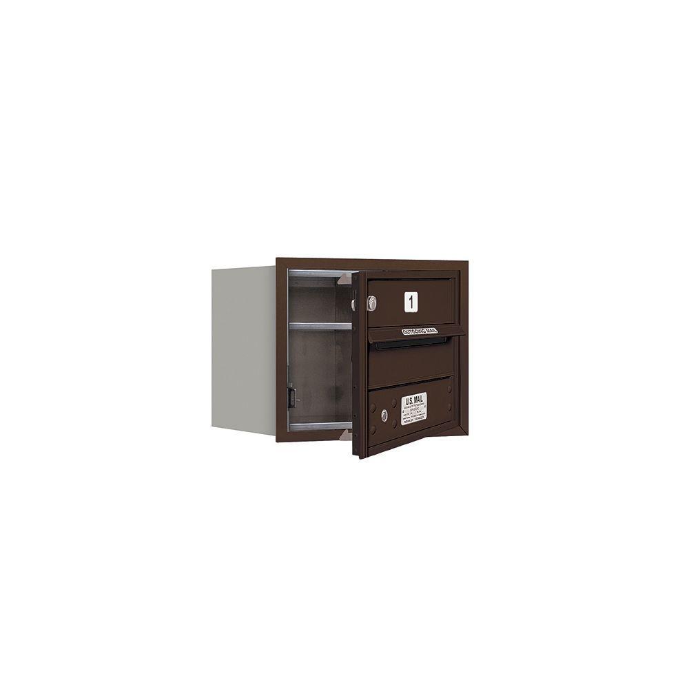 Salsbury industries 3700 series 13 in 3 door high unit for 13 door