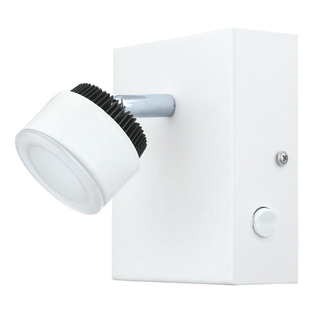 eglo armento white led track light 93852a the home depot. Black Bedroom Furniture Sets. Home Design Ideas