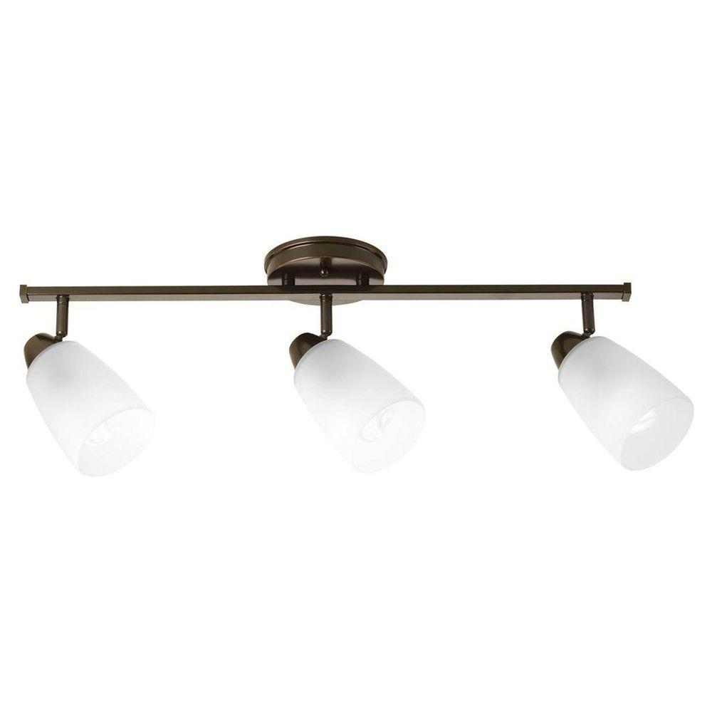 Progress lighting wisten collection 3 light antique bronze track progress lighting wisten collection 3 light antique bronze track lighting fixture p3363 20 the home depot arubaitofo Gallery