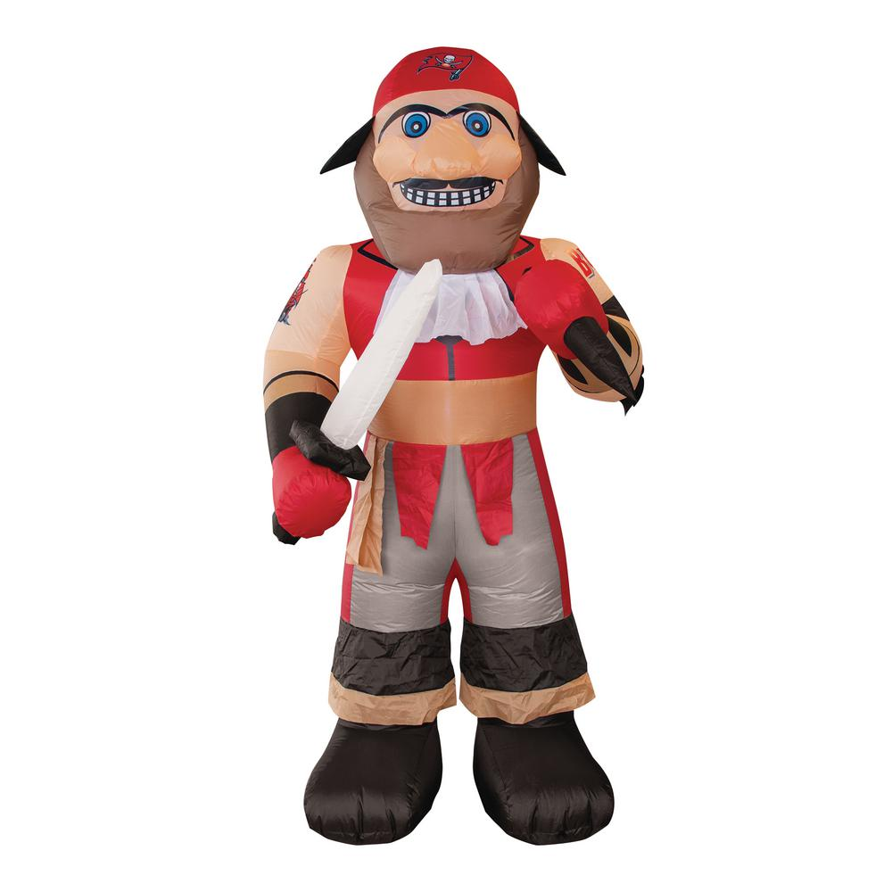 Nfl 7 Ft Tampa Bay Buccaneers Inflatable Mascot 526356 The Home Depot