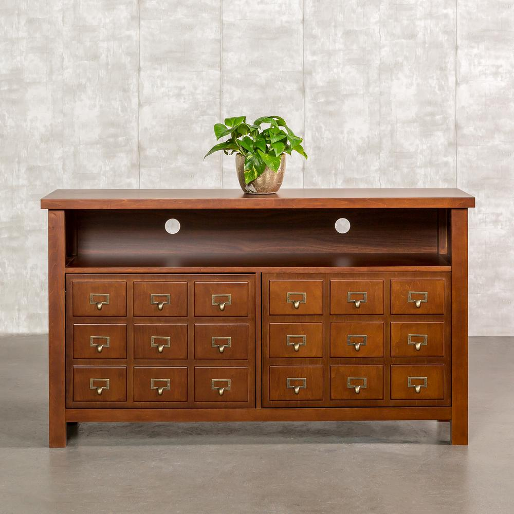 Home Furniture Company: Walker Edison Furniture Company Apothecary Walnut
