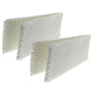Replacement Humidifier Wick Filter for Kaz and Emerson WF1 HDF-1 Models 885 3000 (2-Pack)