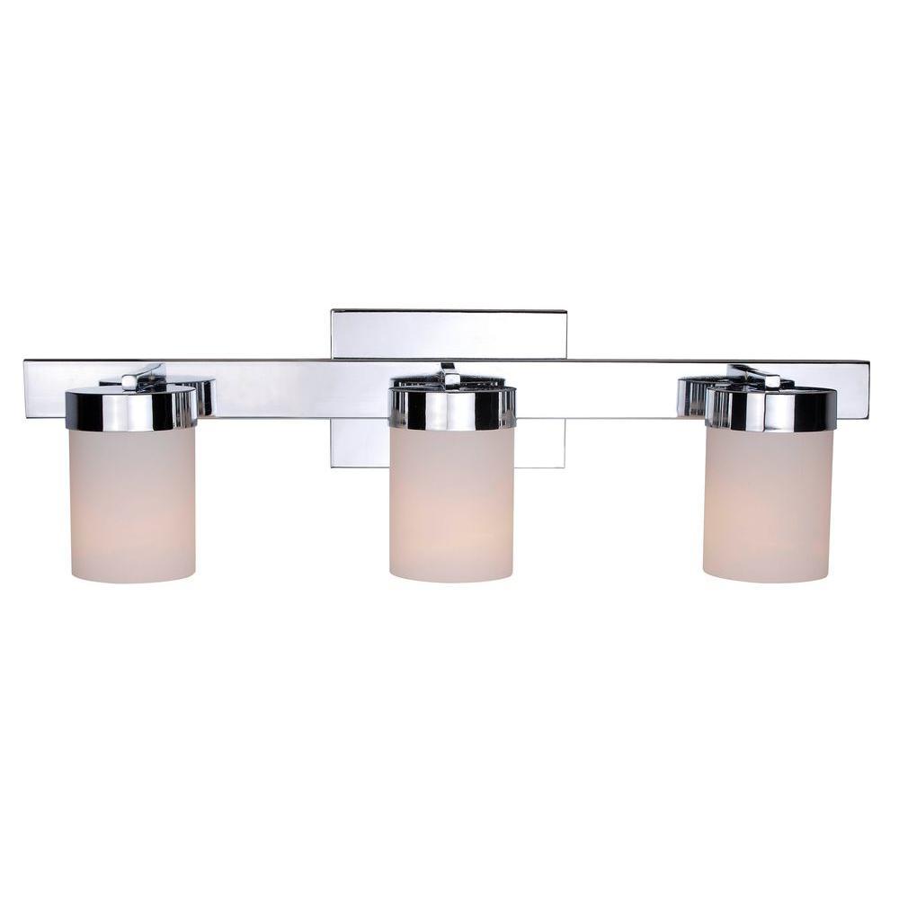 Eastlake 3-Light Chrome Vanity Light
