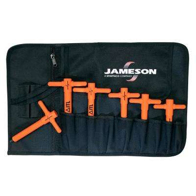 1000-Volt Insulated Metric T-Handle Hex Key Set (6-Piece)